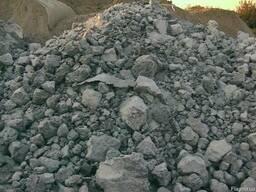 Балласт, щебень вторичный (переработка бетона)
