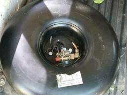 Баллон ГБО под запасное колесо с мультиклапаном 34л