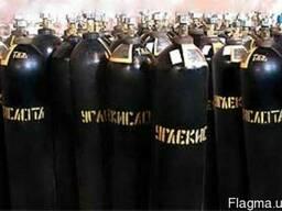 Баллон кислородный 40литров., 10 литров
