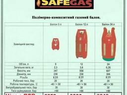 Баллоны газовые композитные 5л, 12л, 24л