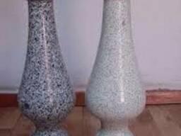 Балясини із граніту сірі від виробника
