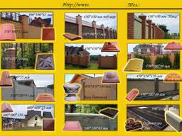 Балясины бетонные, крышки, парапеты то производителя г. Вишне