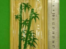 Бамбуковые палочки для шашлыка/закусок, 25 см, 200 шт\пач; 2,5мм