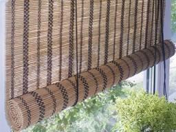 Бамбуковые роллеты (рулонные шторы).