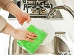 Бамбуковые салфетки для мытья посуды 18 х 23 см
