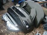 Бампер передний б/у в сборе голый Citroen C4 2004-2013 - фото 1