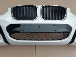 Бампер передний комплектный (6XPDC, цвет A300) BMW X3 G01, М-пакет