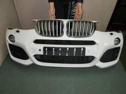 Бампер передний комплектный BMW X3 F25, X4 F26 M-пакет