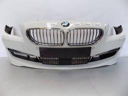 Бампер передний комплектный (цвет A300) BMW 6 F12, F13, F06