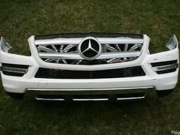 Бампер передний Mercedes X166 2012-2014 год.