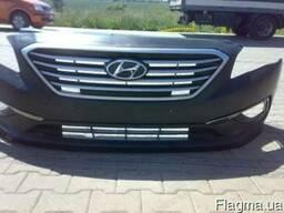 Бампер передний задний Хюндай Hyundai Sonata 2010-2016 г