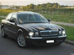 Бампер: передний, задний Jaguar XJ X350 (Ягуар XJ x350)