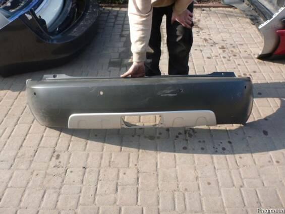 Бампер задний комплектный Skoda Roomster 06-14