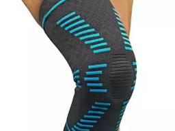 Бандаж профилактический на коленный сустав с пружинными ребрами