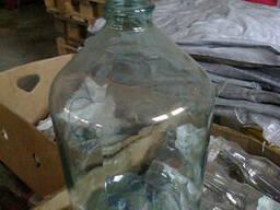 Банка- бутыль стекло 10 б/у