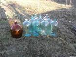 Банка- бутыль, сулия, сулийка стекло 20л - фото 1