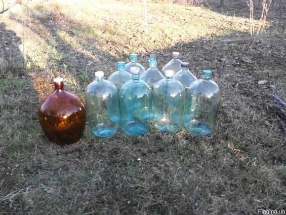 Банка- бутыль, сулия, сулийка стекло 20л