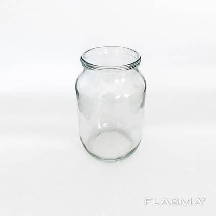 Банка стеклянная 1 литр СКО оптом