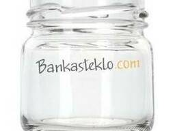 Банка стеклянная твист 40 мл. / 0, 040 л. ТО 43