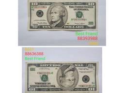 Банкнота/ Валюта/ USD/ Америка/Доллар/ Колекційна /Купюра /Цінність/Гроші