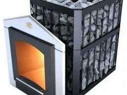 Банная печь Новаслав Пруток ПКС-04 П С3 на дровах