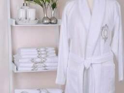 Банный халат Rozet White мужской