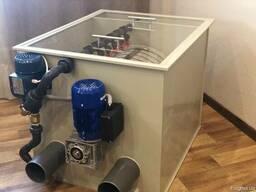 Барабанный фильтр AVA DF-20 для УЗВ/Водоема с Кои/Пруда
