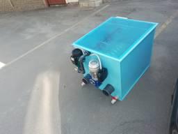 Барабанный фильтр AVA DF-50y для УЗВ/Водоема с Кои/Пруда