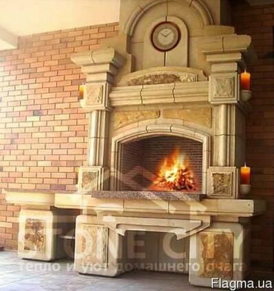 Барбекю печь мангал камин авторский дизайн