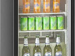 Барный холодильник для напитков Hurakan HKN-DB125H минибар