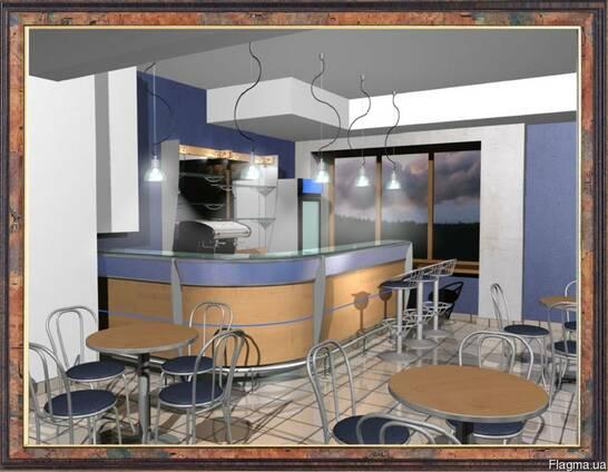 Барные стойки в кафе, бар, ресторан, стойки для кухни