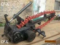 Баровая установка ЭТЦ-165 землеройная на трактор МТЗ 80/82