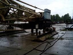 Башенный кран на рельсовом ходу КБ-401 (КБ-160.2) - фото 2