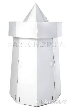 Башня детская белая