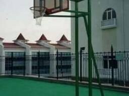 Баскетбольное оборудование.