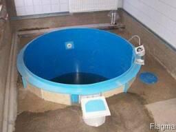 Бассейны из полипропилена , Купели для бань, саун - фото 5
