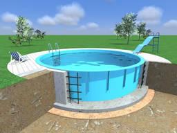 Бассейны полипропиленовые производство