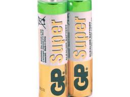 Батарейка GP Super 24A-S2, щелочная AAA, 2 шт в вакуумной упаковке, цена за упаковку