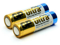 Батарейка GP Ultra Plus 24AUP-2S2, щелочная AAA, 2 шт в вакуумной упаковке, цена за. ..