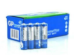 Батарейка солевая GP PowerPlus 15C-IS4, AA, 4 шт в вакуумной упаковке, цена за упаковку