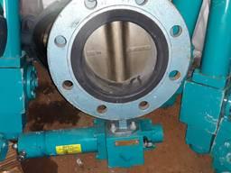 Затвор баттерфляй с поворотным диском от ДУ 50 и до 200 мм, задвижки, клапана.