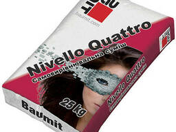 Baumit Nivello Quattro, цементный наливной пол (1-20мм), 25кг