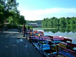 База отдыха в Щурово на реке Северский Донец.