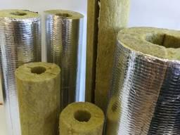 Ізоляція базальтова для труб 45(50) фольгована до 650 град.