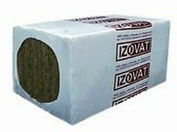 Базальтовая вата Izovat 30 (100*600*1000мм) 3м2