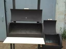 BBQ XXL-2 гриль-мангал-коптильня (барбекю)
