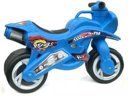 Беговел-Мотоцикл двухколесный Bike Y6 Blue SKL25-149740