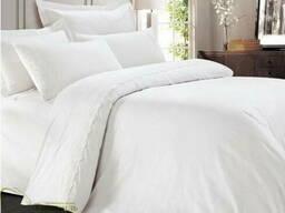 Белое постельное белье, бязь