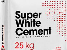 Белый цемент М-500 25 кг Турция