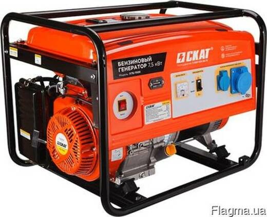 Бензиновый генератор УГБ-7500 7.5 кВт